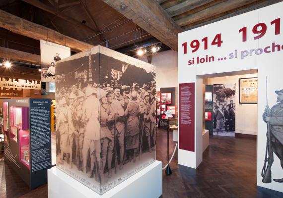 Exposition «1914-1918 si loin … si proche» 2014-2015