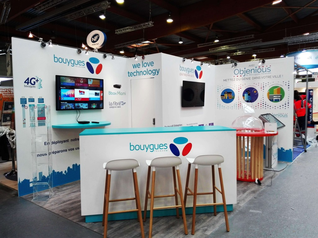 Stand Bouygues Telecom AMIF 2016